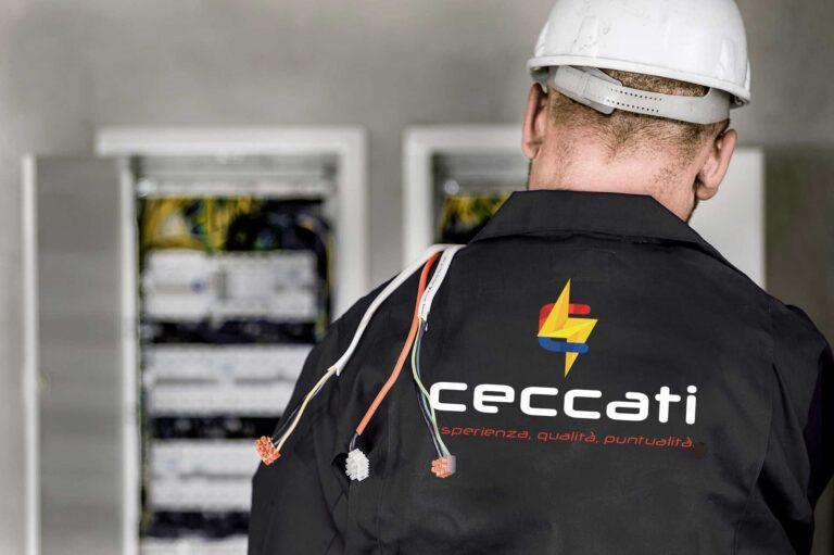 I tecnici di Ceccati sono professionisti nel campo elettrico