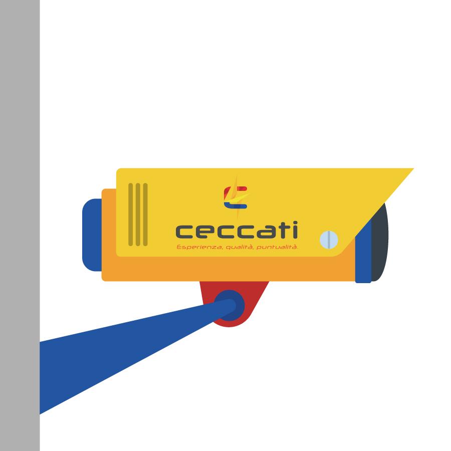 videosorveglianza, CECCATI