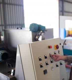 Impianti elettrici industriali dettaglio quadro